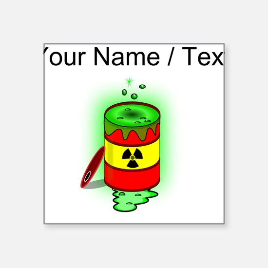 Nuclear Waste Bumper Stickers CafePress - Custom barrel stickers