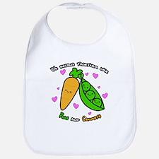 Peas and Carrots Bib
