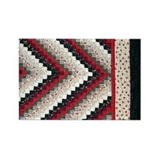 Jackie's Quilt Rectangle Magnet