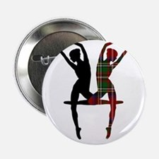 "Miss Tartan Dancer 2.25"" Button"