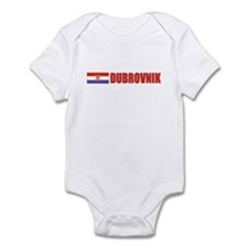 Dubrovnik, Croatia Infant Bodysuit