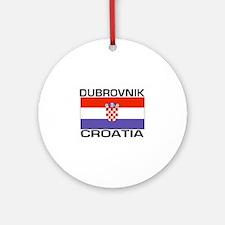 Dubrovnik, Croatia Ornament (Round)