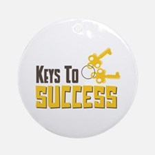 Keys To Success Ornament (Round)