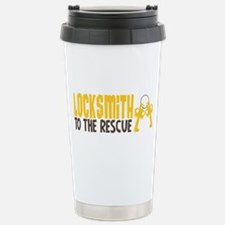 Locksmith To The Rescue Travel Mug