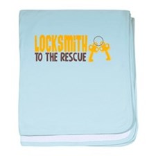 Locksmith To The Rescue baby blanket
