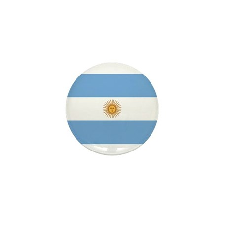 Argentina Flag Mini Button (10 pack)