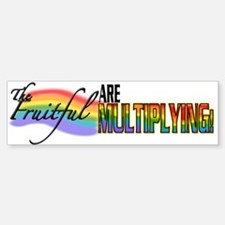 Fruitful Bumper Bumper Bumper Sticker