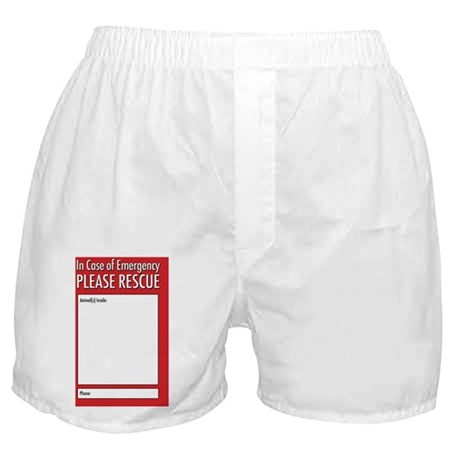 Emergency Animal Rescue Boxer Shorts