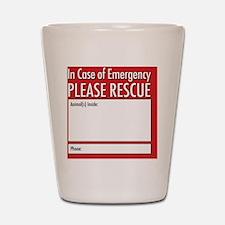 Emergency Animal Rescue Shot Glass