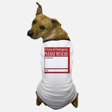 Emergency Animal Rescue Dog T-Shirt