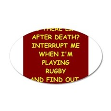 rugby Wall Decal