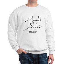 Peace Be With You Arabic Sweatshirt