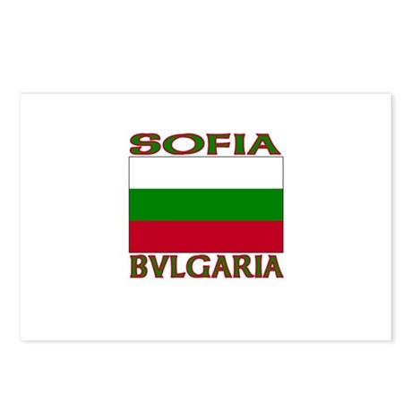 Sofia, Bvlgaria Postcards (Package of 8)