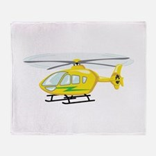 Helicopter Throw Blanket