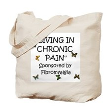 Cute Funny fibromyalgia Tote Bag