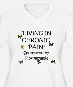 Living in Chronic Pain Plus Size T-Shirt