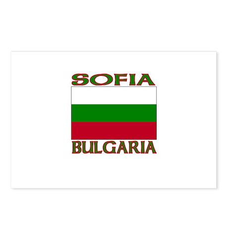 Sofia, Bulgaria Postcards (Package of 8)