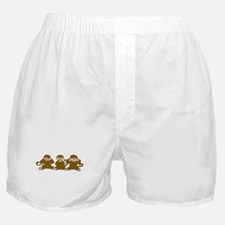 pick it monkey Boxer Shorts