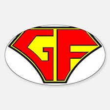 Super Gluten Free Decal