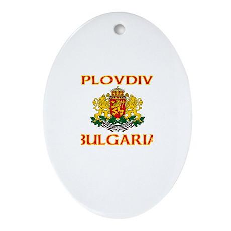 Plovdiv, Bulgaria Oval Ornament