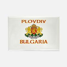Plovdiv, Bulgaria Rectangle Magnet