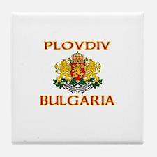 Plovdiv, Bulgaria Tile Coaster