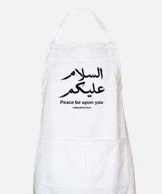 Peace be upon you Arabic BBQ Apron
