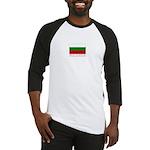 Bulgaria Flag (Dark) Baseball Jersey