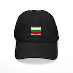 Bulgaria Flag (Dark) Black Cap