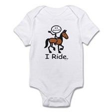 Horseback Riding Infant Bodysuit