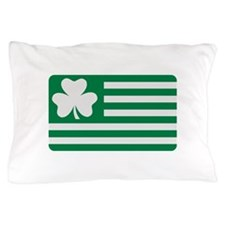 Irish Shamrock flag Pillow Case