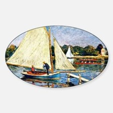 Monet: Boaters at Argenteuil Decal