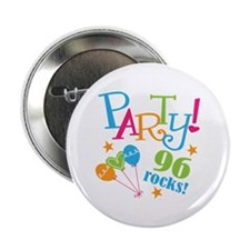 """96th Birthday Party 2.25"""" Button (10 pack)"""