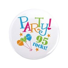 "95th Birthday Party 3.5"" Button"