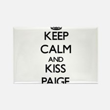 Keep Calm and kiss Paige Magnets
