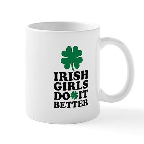 Irish girls do it better Mug by Shirtsalon