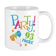 93rd Birthday Party Mug