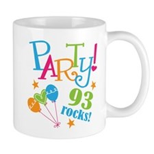 93rd Birthday Party Small Mugs