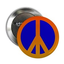 "Peace Sign 2.25"" Button"