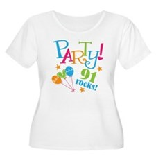 91st Birthday Party T-Shirt