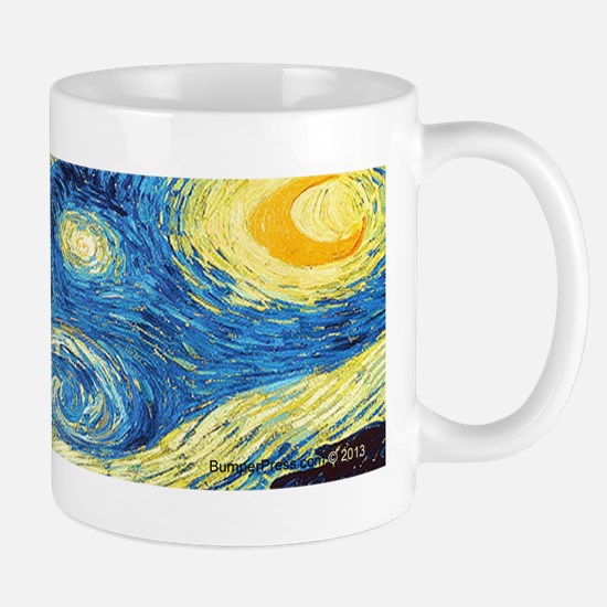 Munch Meets Van Gogh Mug