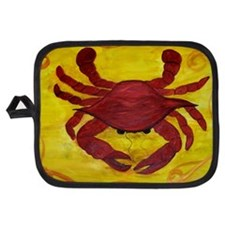 Red Crab Potholder
