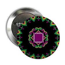 "Mardi Gras Beads 2.25"" Button (100 pack)"