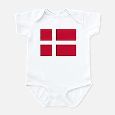 Denmark Flag Onesie