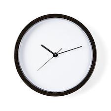 Blue-Lacy-01B Wall Clock