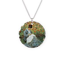 Camille Monet and Child Necklace