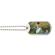 Camille Monet and Child Dog Tags