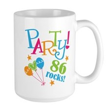 86th Birthday Party Mug