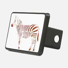 The Colorful Zebra Hitch Cover