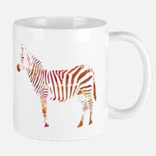 The Colorful Zebra Mugs